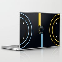 tron Laptop & iPad Skins featuring TRON 2 by Sara E. Snodgrass