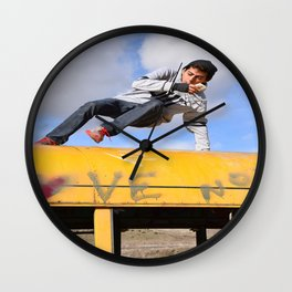 Free Style Wall Clock