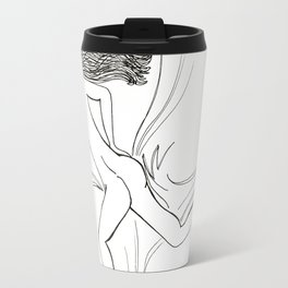 Blissfully Sleeping Naked Travel Mug