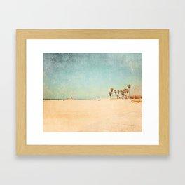 Beach Pop Love Framed Art Print