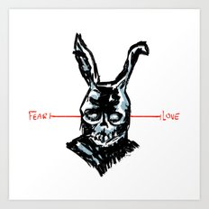 Donnie Darko: FEAR • FRANK • LOVE Art Print