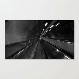 London Walkway Speed Canvas Print