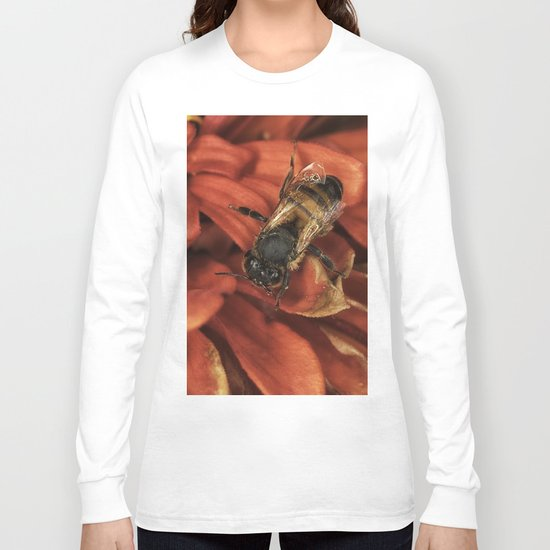 Drying off after the rain Long Sleeve T-shirt