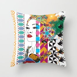 Layer upon layer of beauty Throw Pillow