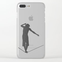 Slackline Clear iPhone Case