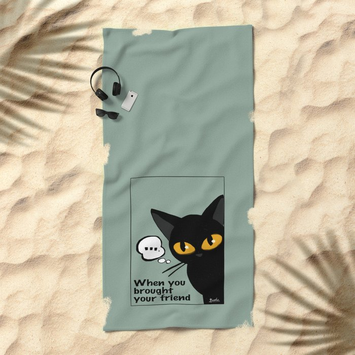 Vigilance Beach Towel