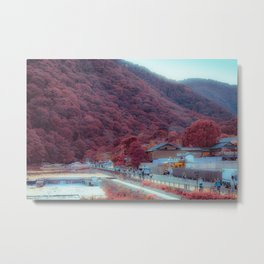 Town of Beginnings Metal Print