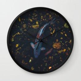 Koi Fish Wall Clock