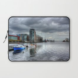 Boats on the Thames HDR Laptop Sleeve
