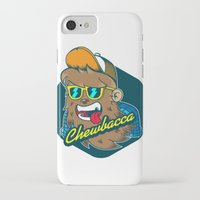 chewbacca iPhone & iPod Cases featuring Chewbacca Hipster  by Redwane