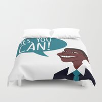 obama Duvet Covers featuring OBAMA by artic