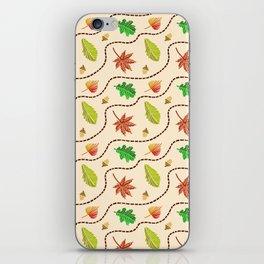 Autumn Leaf Wave iPhone Skin