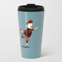 Libertarian Swan Travel Mug