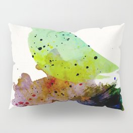 Bird standing on a tree Pillow Sham