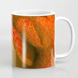 Alphabet Rose Coffee Mug