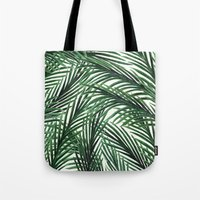 tropical Tote Bags featuring Tropical by Elly Liyana