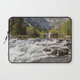 Mirror Lake and Rapids at Yosemite Laptop Sleeve