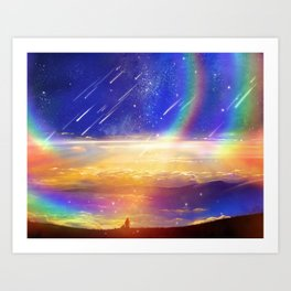 Waiting for a New Day Art Print