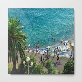 Let's Go To Nice! Metal Print
