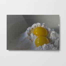 Morning cravings, pancake mix Metal Print