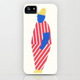 boy with yellow cap iPhone Case