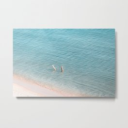 Ocean Duo Metal Print