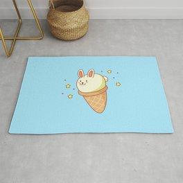 Bunny-lla Ice Cream Rug