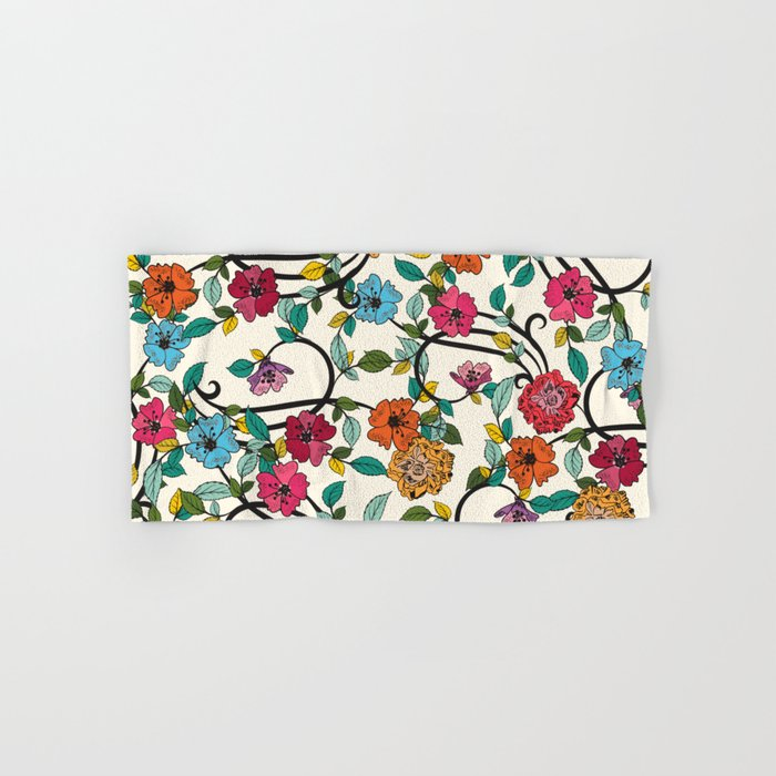 Fleurs Hand & Bath Towel