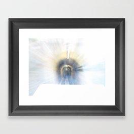 Driving light 3 Framed Art Print
