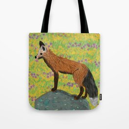 Fox at Dawn Tote Bag