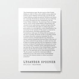 11     | Lysander Spooner | Lysander Spooner Quotes | 200608 Metal Print