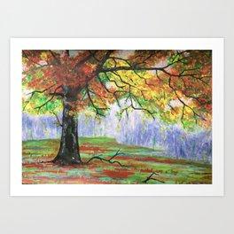 End of season Art Print