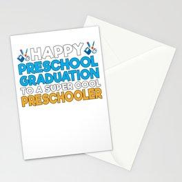 Happy Preschool Graduation Stationery Cards