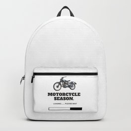 Motorcycle Season Loading Backpack