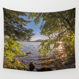 Secret Place By The Lake Wall Tapestry