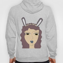 Lady bunny - happy easter Hoody