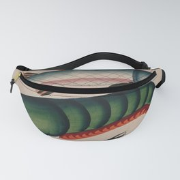 A lobster and a fish. Gouache painting by an Indian artist, Fanny Pack