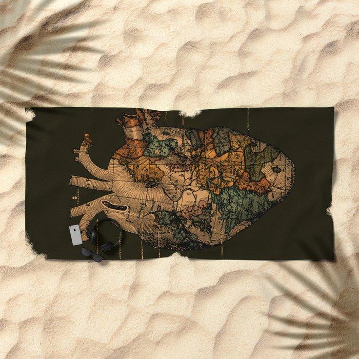 I'll Find You (Dark Brown) Beach Towel