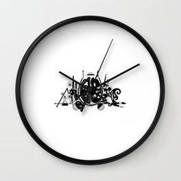 Left Brain vs Right Brain Wall Clock
