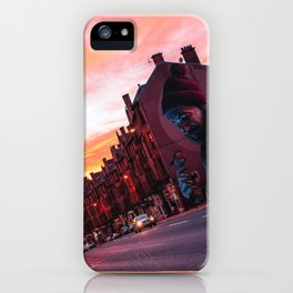 Candy floss skies. iPhone Case
