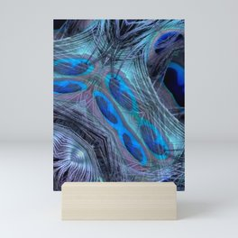 Feather Abstract Mini Art Print