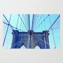 BROOKLYN BRIDGE - LIGHTER Rug