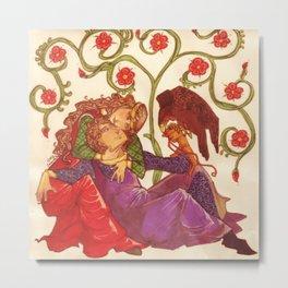 medieval love Metal Print