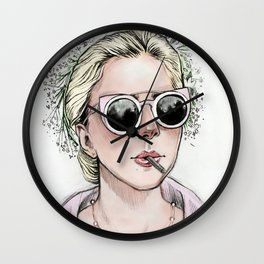 Five Foot Two Wall Clock