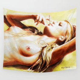 Femme/4 Wall Tapestry