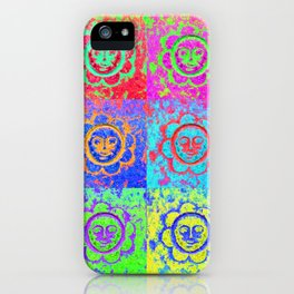 Eternal sunshine of the funky kind iPhone Case