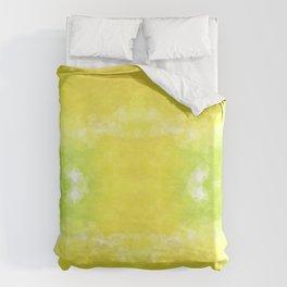 """""""Lemon jello"""" triangles design Duvet Cover"""