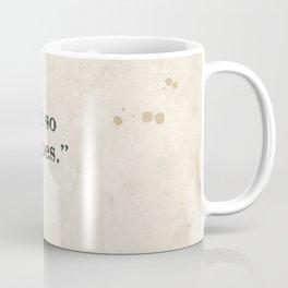 and so it goes Coffee Mug