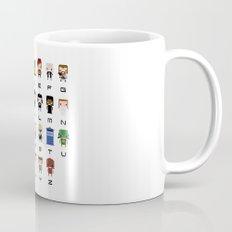 Doctor Who Alphabet Mug