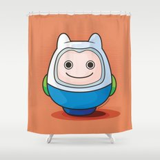 Daruma: Finn the Human Shower Curtain